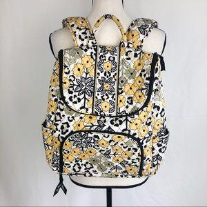 Vera Bradley Go Wild Double Zip Backpack